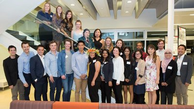 University of Canterbury students competing in the 21 day Pacific Challenge this year.