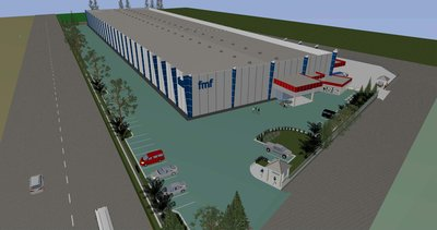 Artist's impression of state-of-the-art factory. It will start production later in 2016.