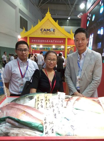 Yolanda Jiang, PT&I China's Manager, Trade, Operations and Special Projects at the event.