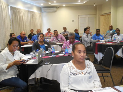 Participants at the PT&I Path to Market workshop in Fiji last week.