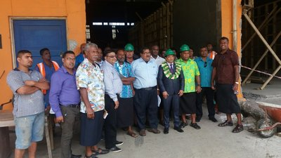 Copra Millers Fiji celebrating World Coconut Day at its factory in Savusavu. It's new integrated plant will start production later in October.