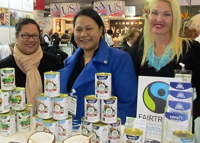 Angela, Tricia and Johanna at the Fine Food Australia 2016 show in Melbourne.