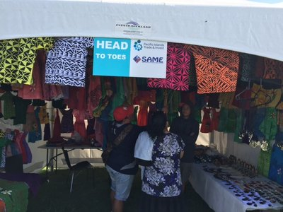 One of the SAME stands at last year's Pasifika 2016.