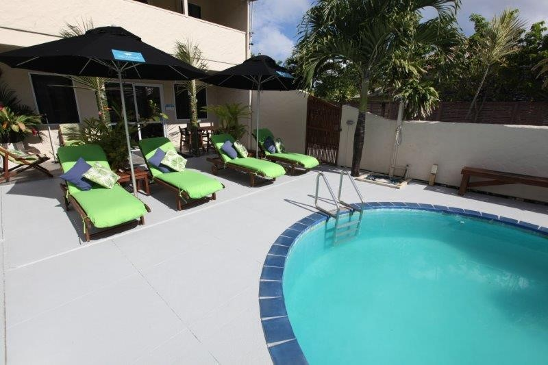 Coral Sands pool area