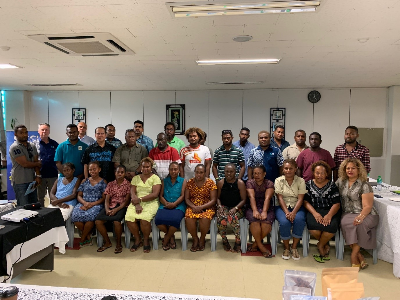 Participants in the Solomon Islands workshop